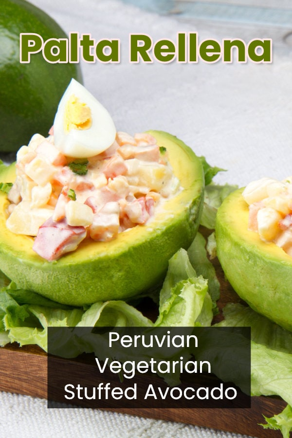 Peruvian palta rellena recipe