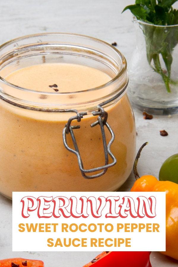 Peruvian rocoto sauce