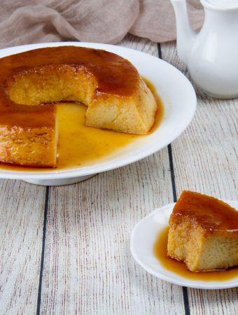 Peruvian crema volteada caramel flan recipe