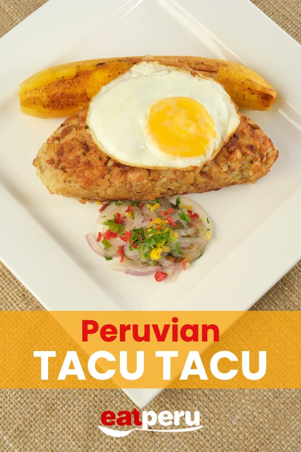 Tacu Tacu Recipe: Peruvian fried rice and beans