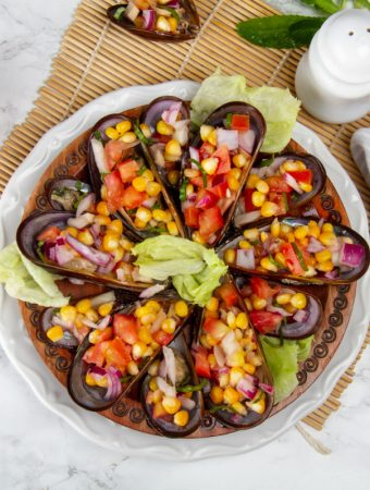 Delicious Peruvian Choros a la Chalaca Recipe