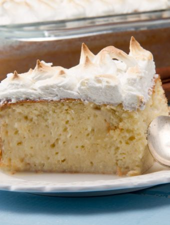 delicious tres leches cake from peru
