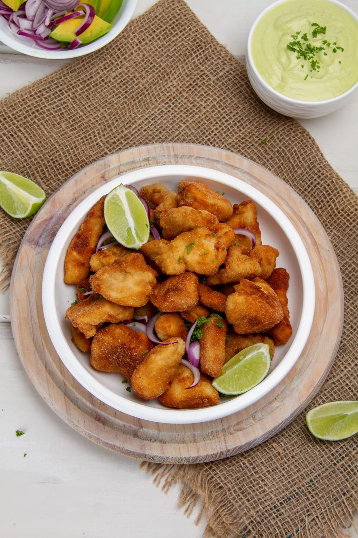 Fried Chicken Chicharron De Pollo Peruano