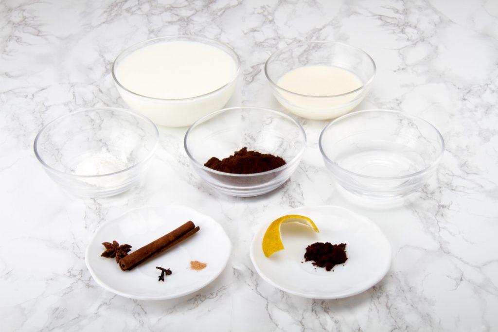 Hot Chocolate Drink Recipe Ingredients