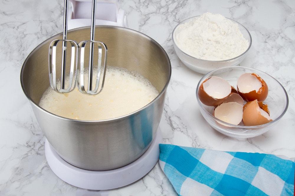 Mix Eggs Until Foamy