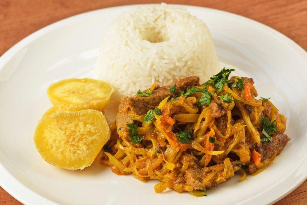 Ollucos De Carne Peruvian Tuber Recipe