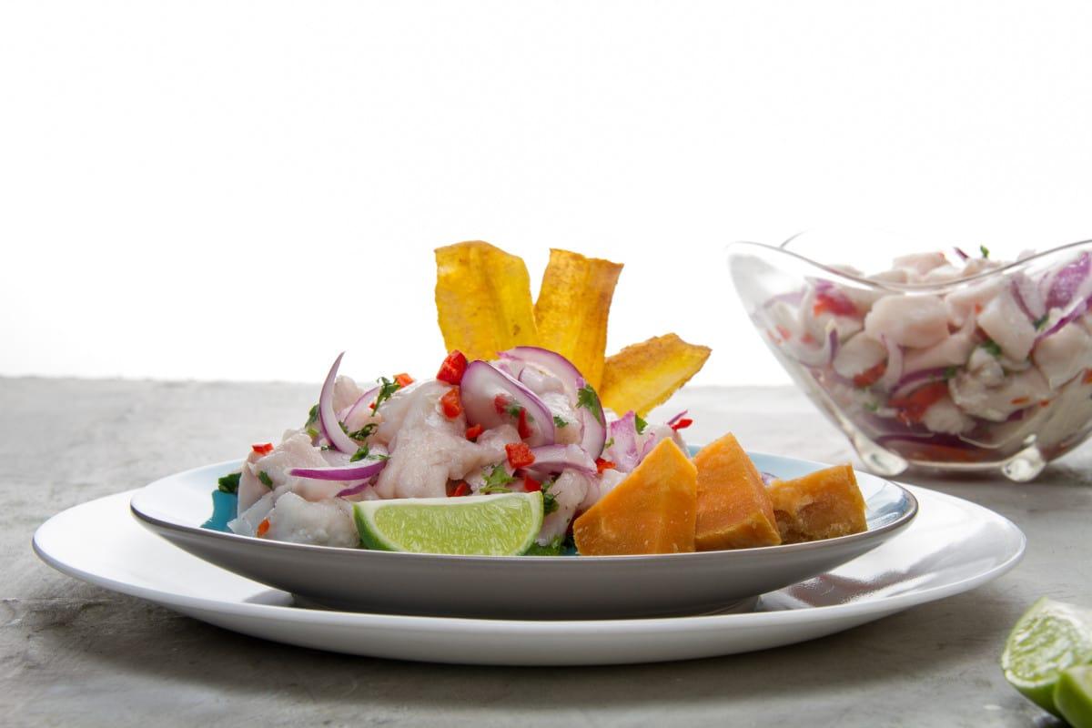 Peru Ceviche Peruano Raw Fish Dish