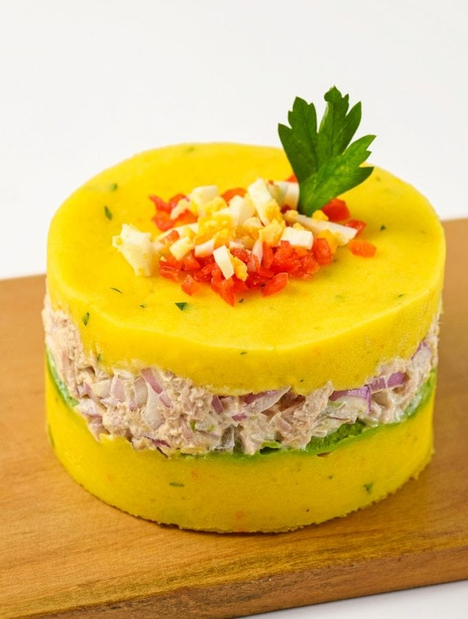 Peruvian Causa De Atun Side Dish Recipe