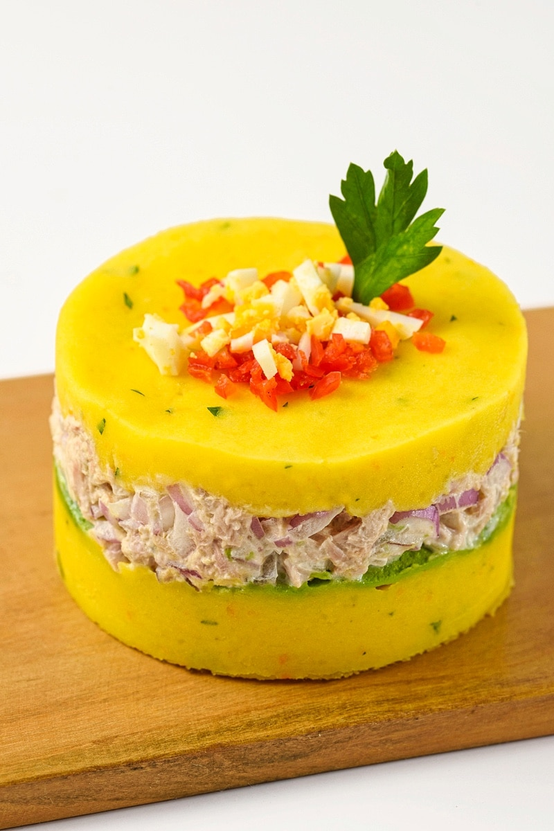 Peruvian Causa De Atún Recipe An Appetizer With A Story