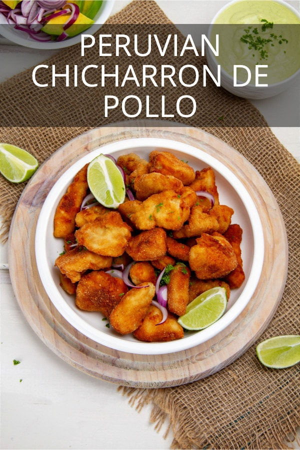 Peruvian Chicharron De Pollo Recipe