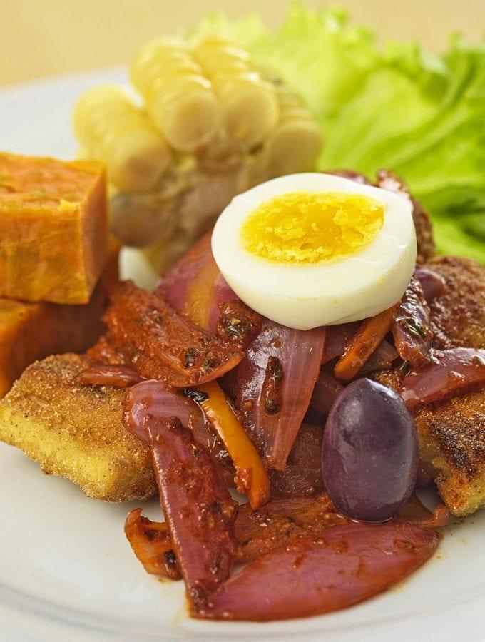 Peruvian Escabeche Fish Dish Recipe