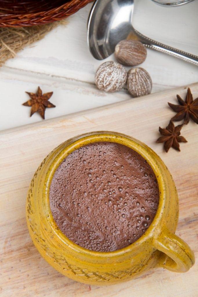 Peruvian Hot Chocolate In Cup