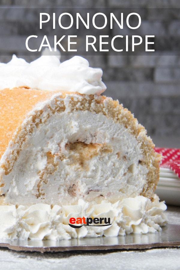 Peruvian Pionono Cake Recipe