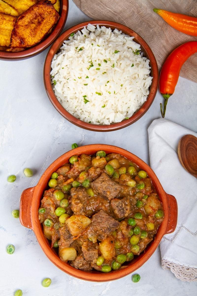 Peruvian Seco De Carne Main Course 1