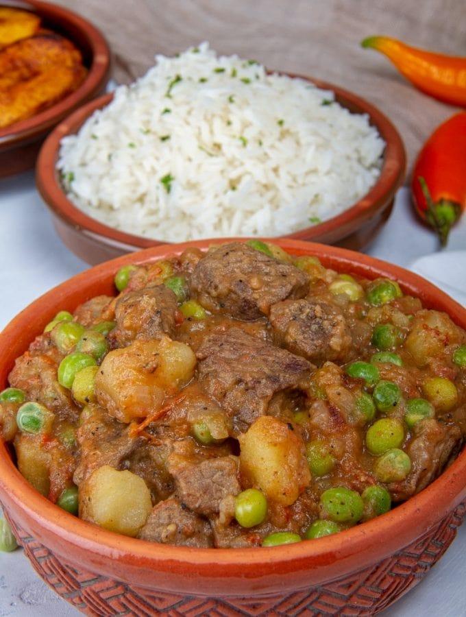 Seco De Carne Beef Stew From Peru
