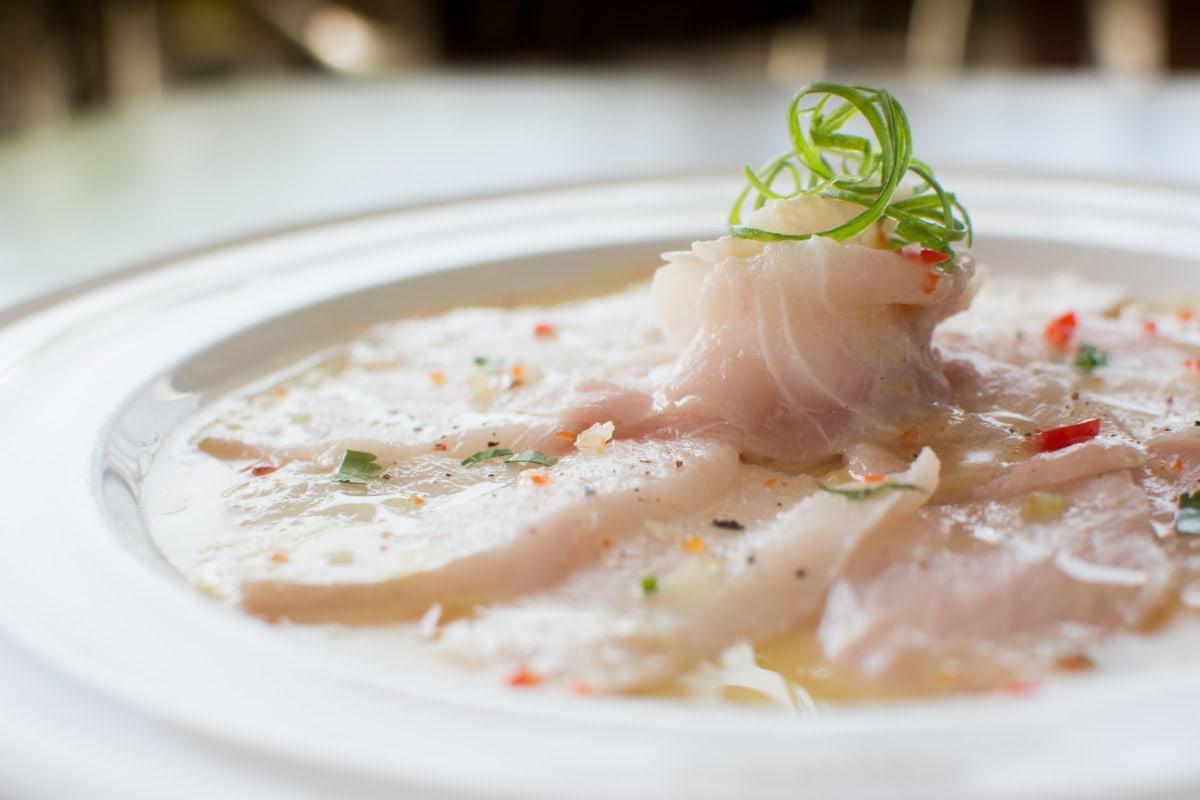 Tiradito Peruvian Fish Dish 1