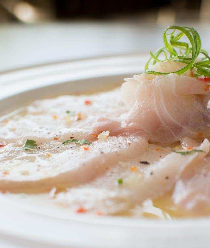 Tiradito Peruvian Fish Dish
