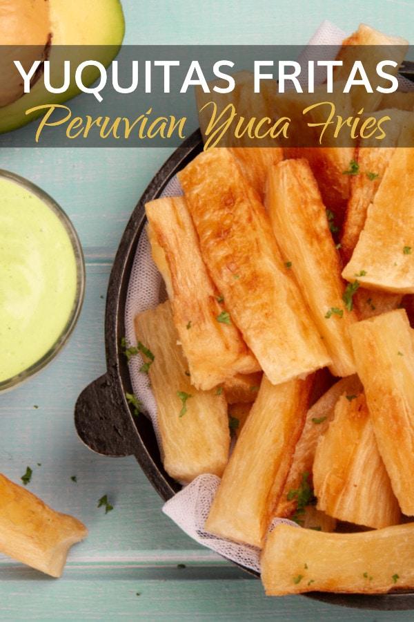 Yuquitas Fritas Recipe