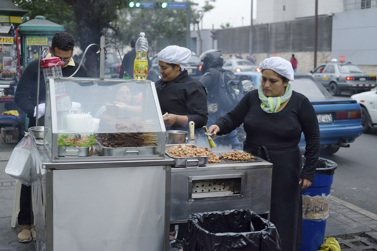 Anticuchos Lima Stret Food