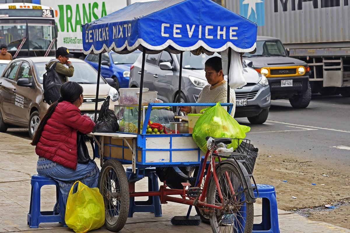 Ceviche Street Food Lima Peru