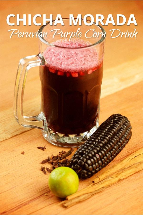 Chicha Morada Peruvian Drink
