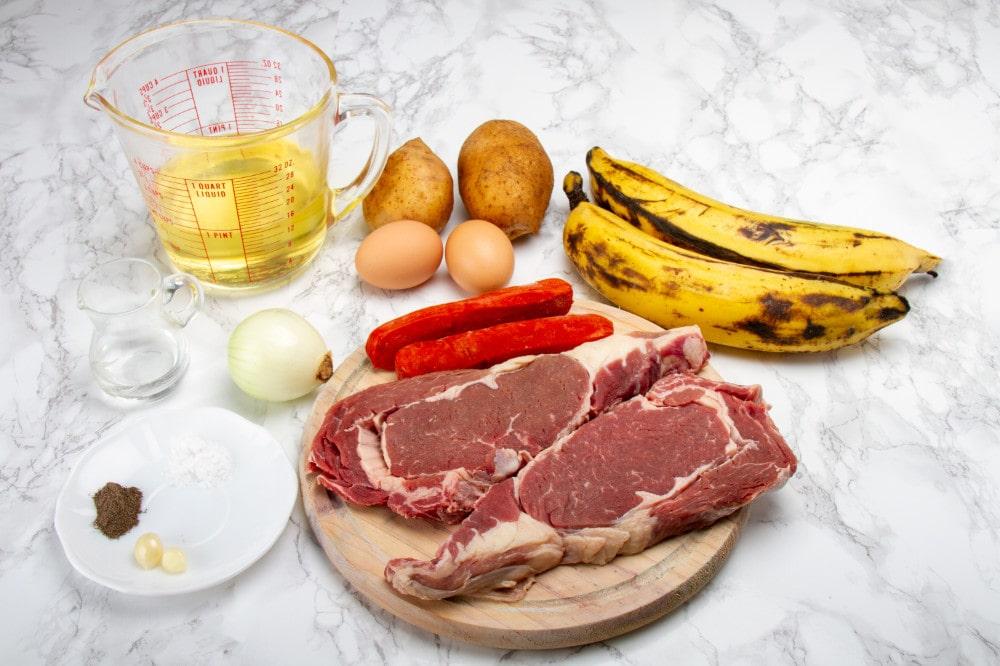 Ingredients To Make Lomo A Lo Pobre