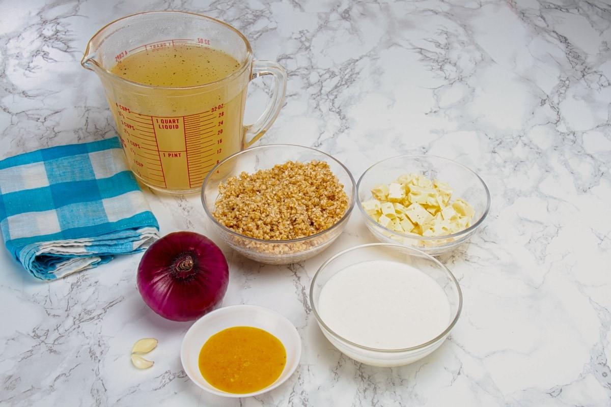 Guiso De Trigo Ingredients