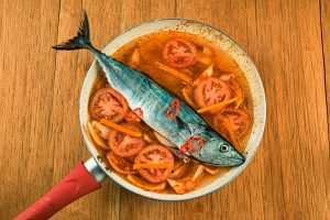 Step 7 Bonito Fish In Stew