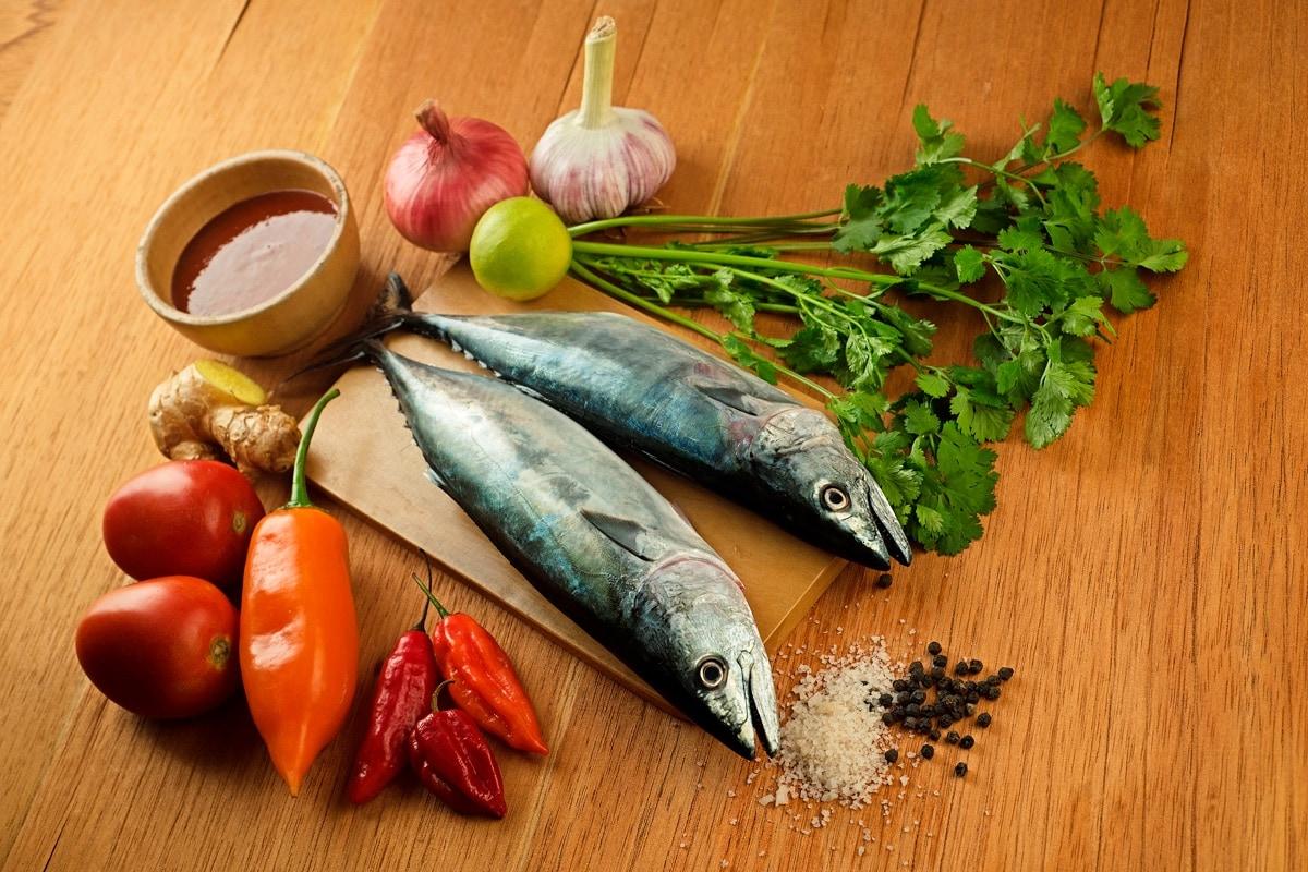 Sudado De Pescado Ingredients