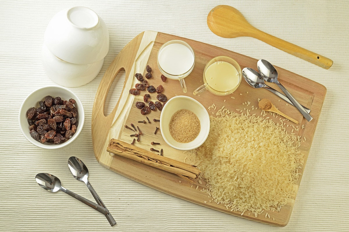 Peruvian Arroz Con Leche Ingredients