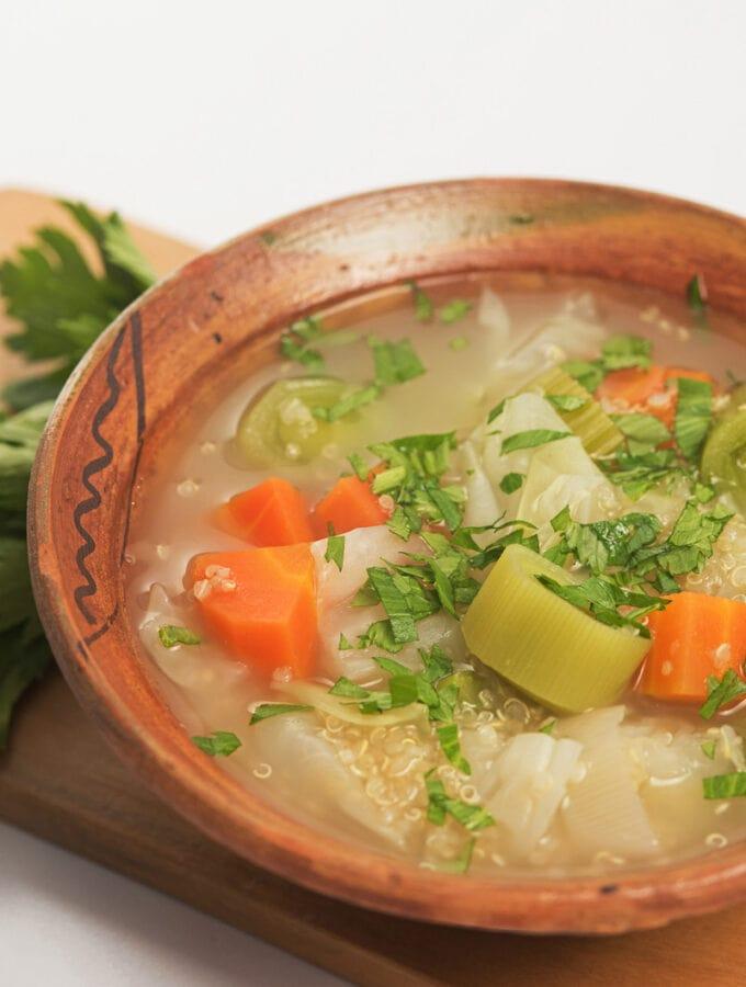 Peruvian Soup Recipe Sopa De Quinoa