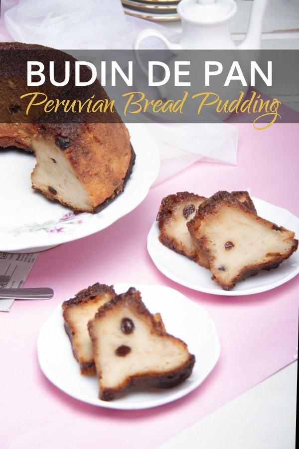 Budin De Pan White Bread Pudding Recipe