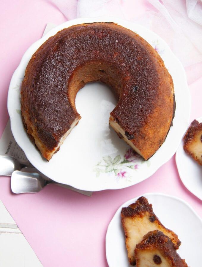 Delicious Peruvian Bread Pudding