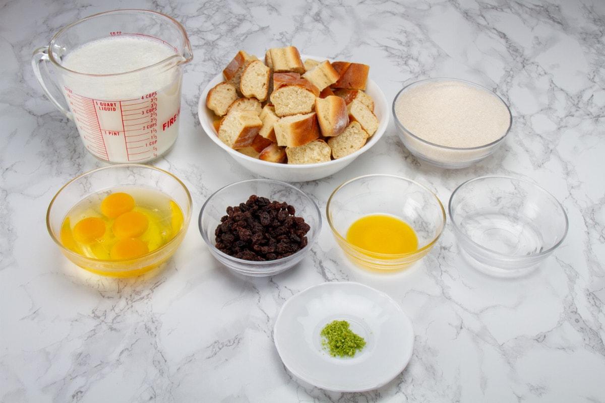 Full Budin De Pan Recip Ingredients