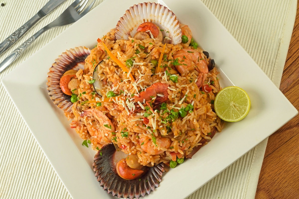 Mariscos Seafood With Rice Recipe