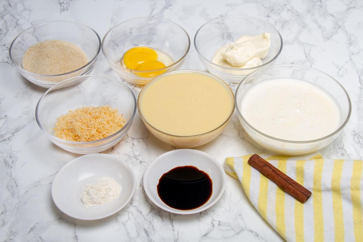 Queso Helado Ingredients