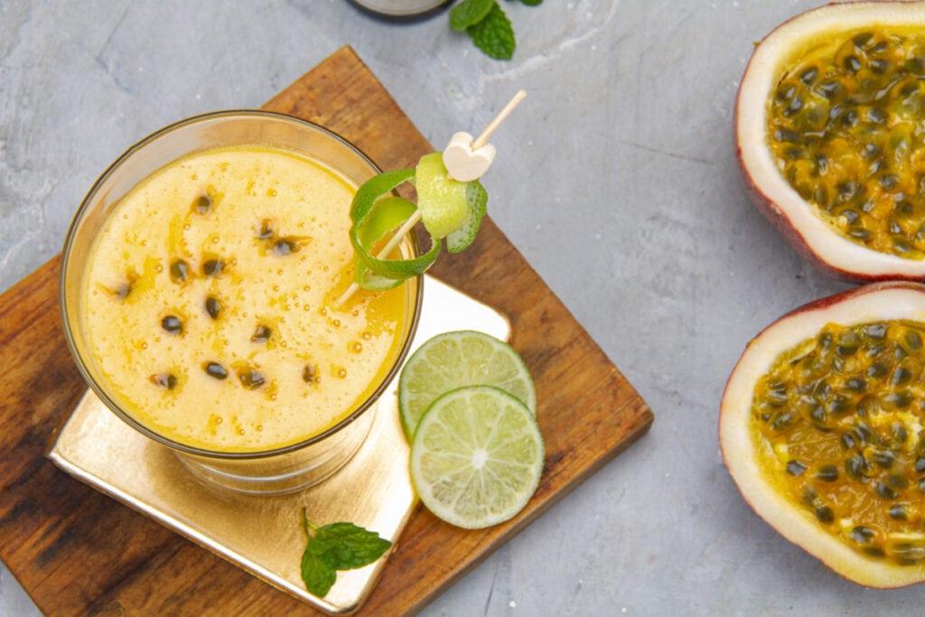 Delicious Peruvian Maracuya Sour Drink
