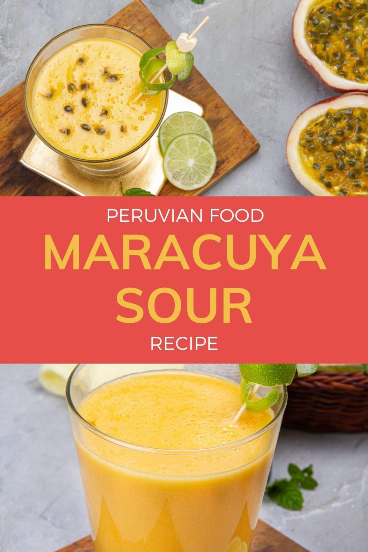 Maracuya Sour Recipe