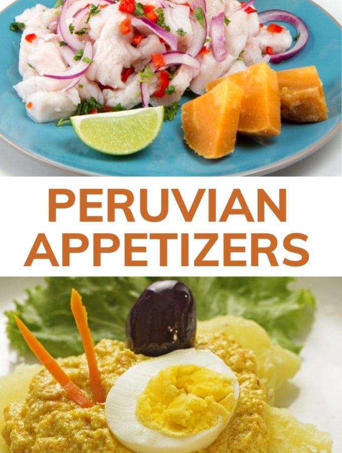 peruvian appetizer blog pinterest