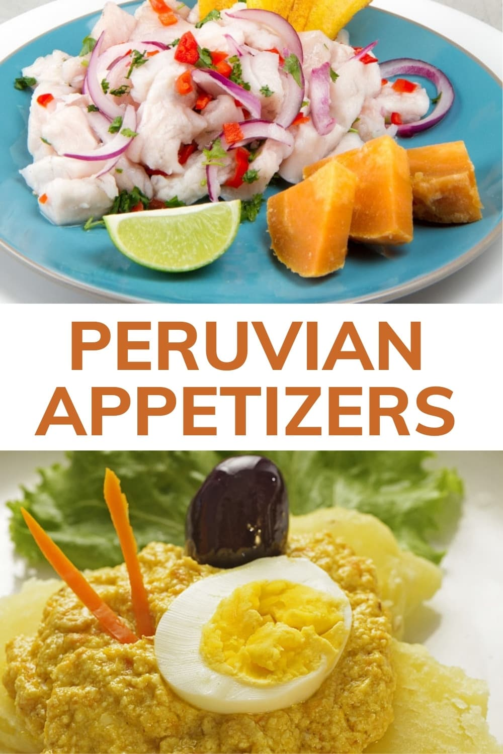 peruvian appetizer blog pinterest