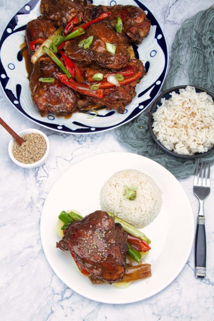 peruvian chicken in soy sauce pollo al sillao recipe