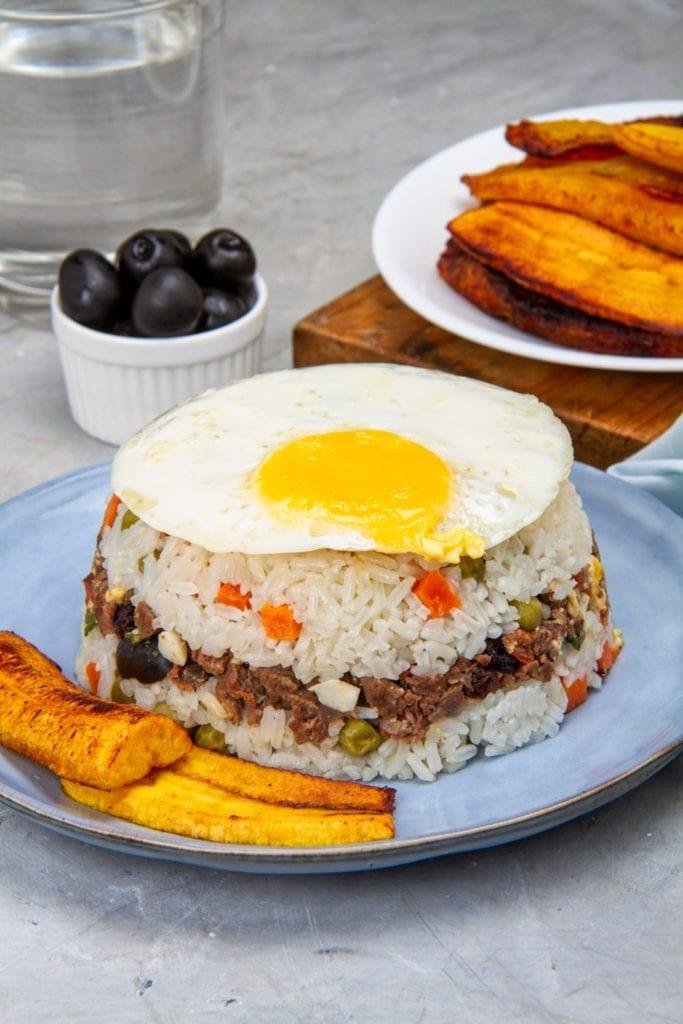 peruvian arroz tapado beef rice recipe