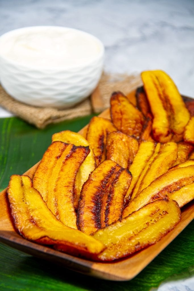 peruvian fried plantains