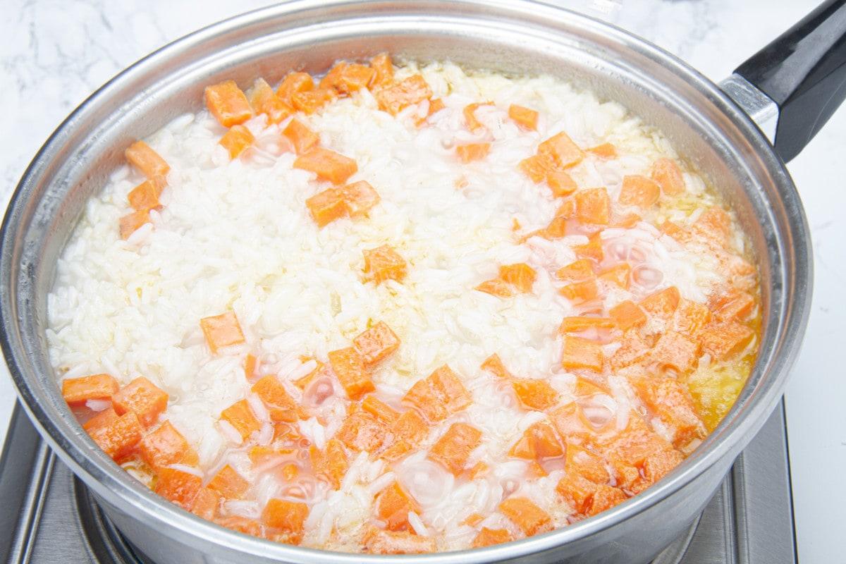 step 2 boil rice