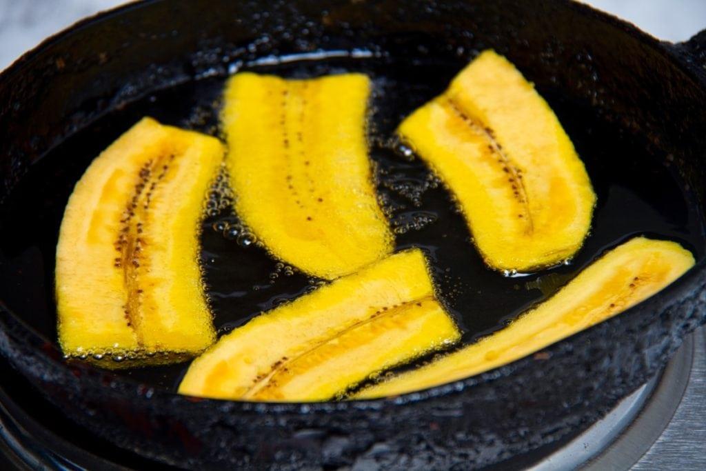 step 4 fry in hot oil on medium high heat