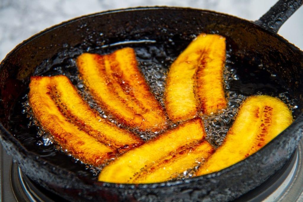 step 5 fry until golden brown