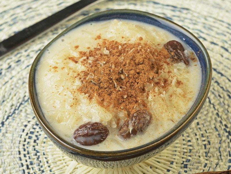 arroz con leche dessert