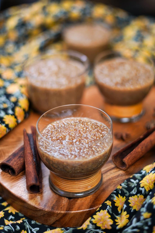 quinoa milk pudding recipe
