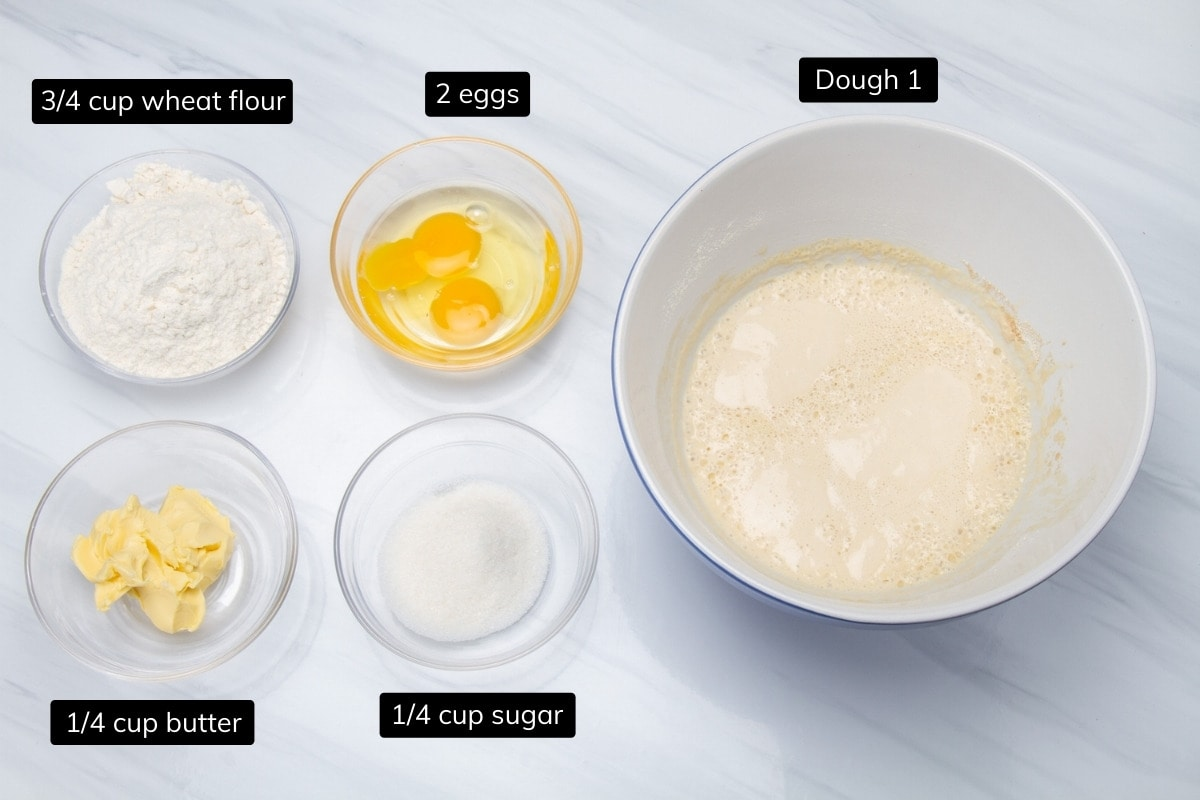 ingredients for dough 2