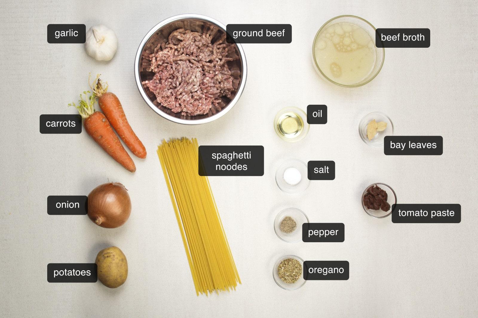 sopa a la minuta beef noodle soup ingredients